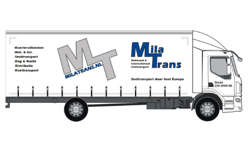 Mila Transport Daf Zeil