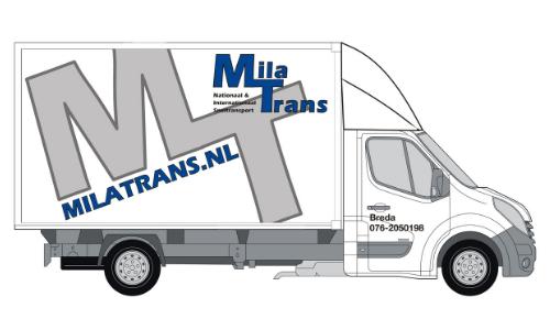 Mila Transport movado Bakwagen